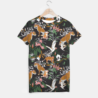 Thumbnail image of Leopards at night Camiseta, Live Heroes