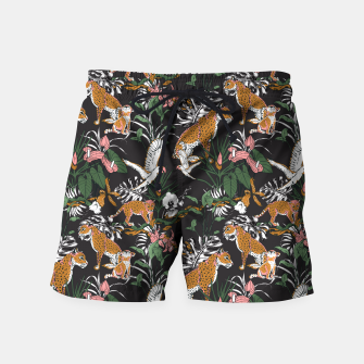 Thumbnail image of Leopards at night Pantalones de baño, Live Heroes