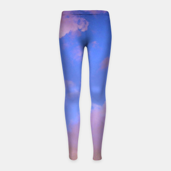Thumbnail image of  the sky is glowing Legginsy dziewczęce, Live Heroes