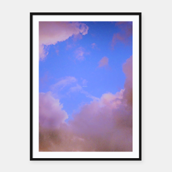 Thumbnail image of  the sky is glowing Plakaty w ramie , Live Heroes