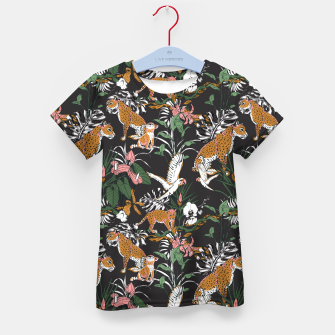 Thumbnail image of Leopards at night Camiseta para niños, Live Heroes