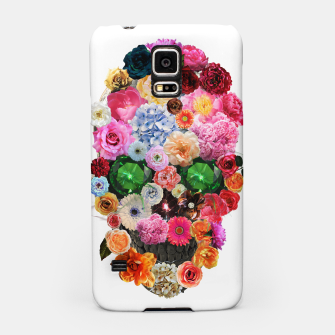 Thumbnail image of Floral Skull Samsung Case, Live Heroes