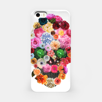 Thumbnail image of Floral Skull iPhone Case, Live Heroes