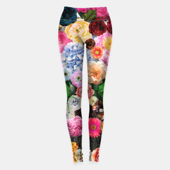 Thumbnail image of Floral Skull Leggings, Live Heroes