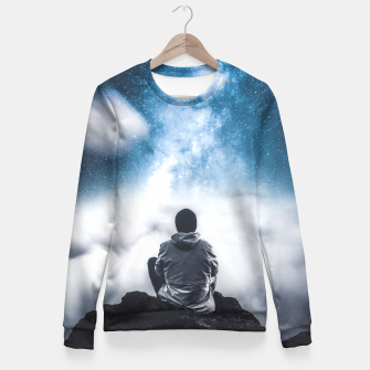 Thumbnail image of Dreaming of U Fitted Waist Sweater, Live Heroes