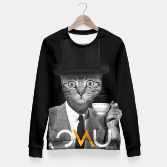 Thumbnail image of Mr. Cat Fitted Waist Sweater, Live Heroes