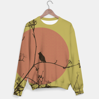 Thumbnail image of Bird on a branch Sweater, Live Heroes