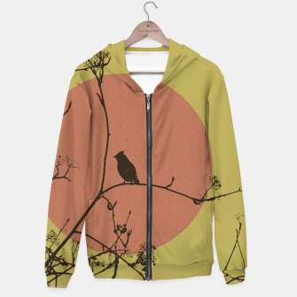 Thumbnail image of Bird on a branch Hoodie, Live Heroes