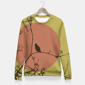 Thumbnail image of Bird on a branch Fitted Waist Sweater, Live Heroes