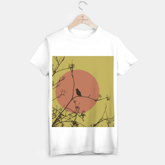 Thumbnail image of Bird on a branch T-shirt regular, Live Heroes