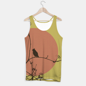 Thumbnail image of Bird on a branch Tank Top, Live Heroes