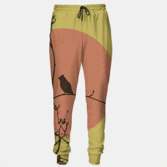 Thumbnail image of Bird on a branch Sweatpants, Live Heroes