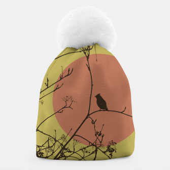 Thumbnail image of Bird on a branch Beanie, Live Heroes