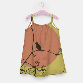 Thumbnail image of Bird on a branch Girl's Dress, Live Heroes