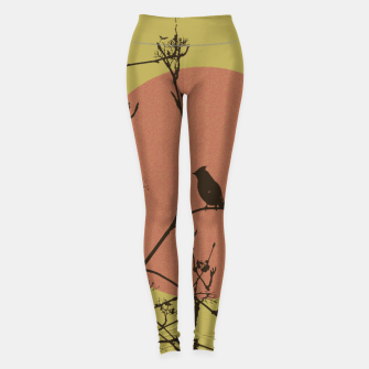 Thumbnail image of Bird on a branch Leggings, Live Heroes
