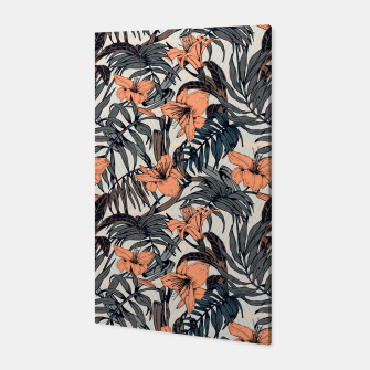 Thumbnail image of Tropical botanical succulent Canvas, Live Heroes