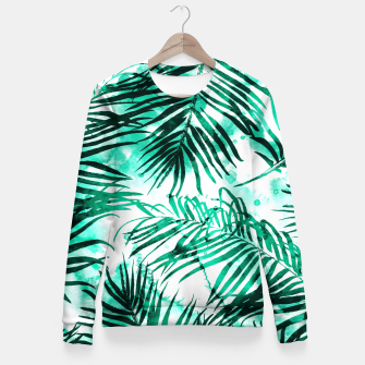 Thumbnail image of Tropical Heaven-v2 Fitted Waist Sweater, Live Heroes