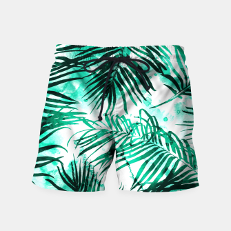 Thumbnail image of Tropical Heaven-v2 Swim Shorts, Live Heroes