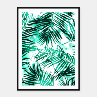 Thumbnail image of Tropical Heaven-v2 Framed poster, Live Heroes