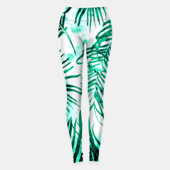 Thumbnail image of Tropical Heaven-v2 Leggings, Live Heroes