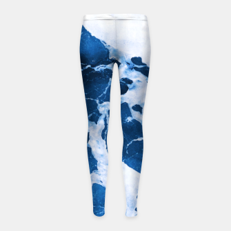 Thumbnail image of Island Vibes Girl's Leggings, Live Heroes