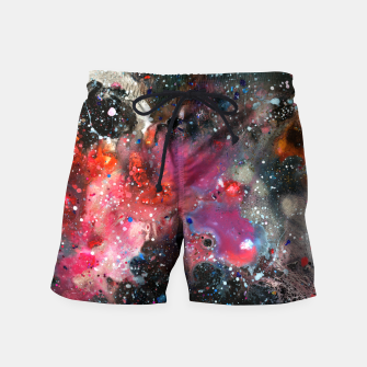 Thumbnail image of Chemistry of Nothing Swim Shorts, Live Heroes