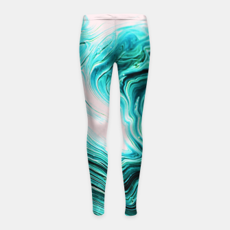 Thumbnail image of Agata Girl's Leggings, Live Heroes