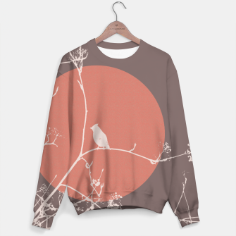 Thumbnail image of Bird on a branch 2 Sweater, Live Heroes