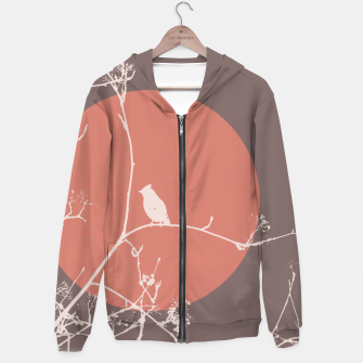 Thumbnail image of Bird on a branch 2 Hoodie, Live Heroes