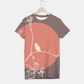 Thumbnail image of Bird on a branch 2 T-shirt, Live Heroes