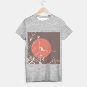 Thumbnail image of Bird on a branch 2 T-shirt regular, Live Heroes