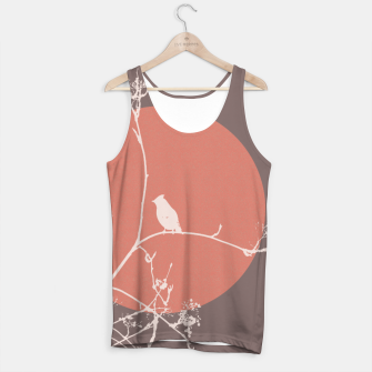 Thumbnail image of Bird on a branch 2 Tank Top, Live Heroes