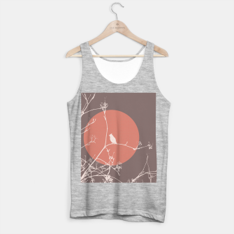 Thumbnail image of Bird on a branch 2 Tank Top regular, Live Heroes