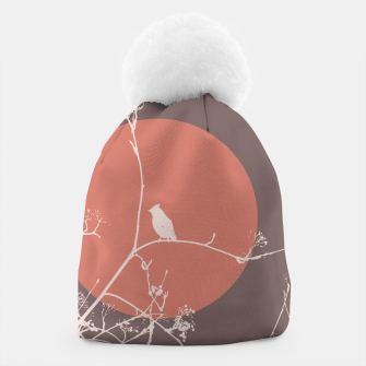 Thumbnail image of Bird on a branch 2 Beanie, Live Heroes