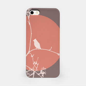 Thumbnail image of Bird on a branch 2 iPhone Case, Live Heroes