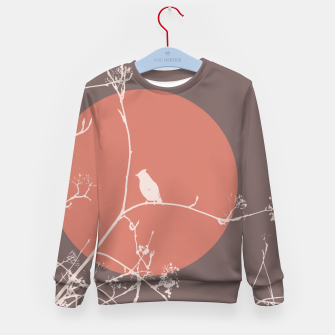 Thumbnail image of Bird on a branch 2 Kid's Sweater, Live Heroes