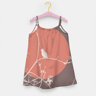 Thumbnail image of Bird on a branch 2 Girl's Dress, Live Heroes