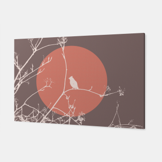 Thumbnail image of Bird on a branch 2 Canvas, Live Heroes
