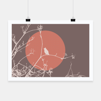 Thumbnail image of Bird on a branch 2 Poster, Live Heroes