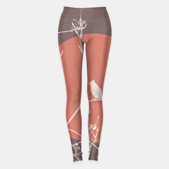 Thumbnail image of Bird on a branch 2 Leggings, Live Heroes
