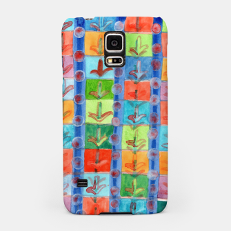 Thumbnail image of Colorful Planting Plants in Squares Pattern  Samsung Case, Live Heroes