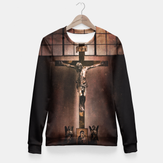 Thumbnail image of Jesus Superstar Fitted Waist Sweater, Live Heroes