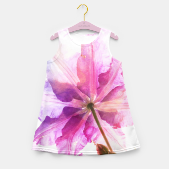 Thumbnail image of Energy Plant Girl's Summer Dress, Live Heroes