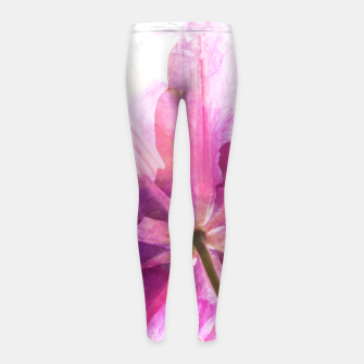 Thumbnail image of Energy Plant Girl's Leggings, Live Heroes