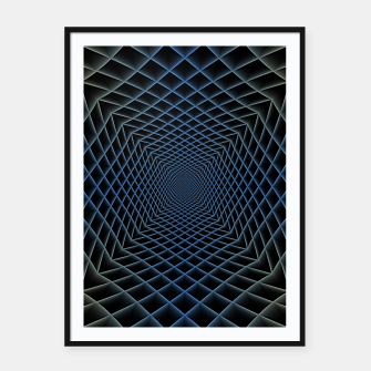 Thumbnail image of Steel Path Framed poster, Live Heroes