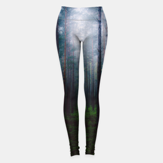Thumbnail image of I will make you sleep Leggings, Live Heroes