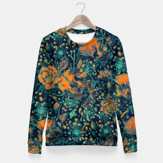 Thumbnail image of Life and Death Pattern Fitted Waist Sweater, Live Heroes