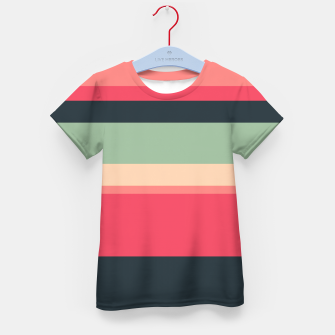 Thumbnail image of Summer Colors Kid's T-shirt, Live Heroes