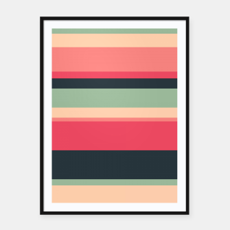 Thumbnail image of Summer Colors Framed poster, Live Heroes