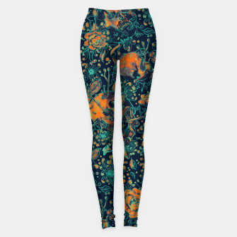 Thumbnail image of Life and Death Pattern Leggings, Live Heroes